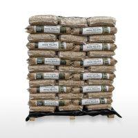 Wood Pellets DIN, EN Plus-A1, EN Plus-A2 (6-8mm) Pine, Beech wood pellets of 15kg