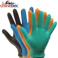 100% Industrial Safety Touch Screen Vinyl Food Gloves