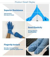 Powder Free Non-Medical Nitrile Gloves With High Quality Disposable NItrile gloves