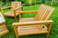 4-piece Garden Lounge Set (Ash or Oak)