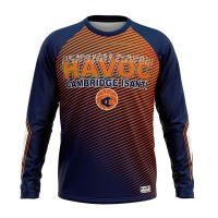 Spring Wholesale long sleeve customized blank basketball shooting shirts