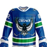 China Wholesale Sublimation College Hockey Jerseys Custom Made