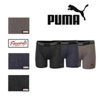 Puma Performance Men's 3 Pack Boxer Briefs Mesh Technology Underwear VARIETY E41
