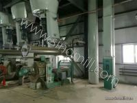 Ring die pellet mill for whole set of animal feed milling machine