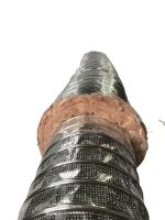 Polyester insulation Acoustical&Thermal Flexible duct