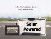 Solar Wireless Backup Camera