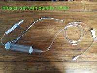 Infusion Set Medical Plastic IV Infusion Set Packaging Bag