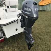 Free shipping Used Yamaha, 25 HP 4-Stroke Outboard Motor Engine