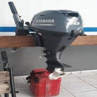 Free shipping Used Yamaha, 20 HP 4-Stroke Outboard Motor Engine