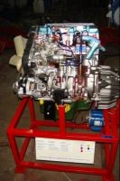 4 Stroke 4 Cylinder Diesel Engine ( Motor Driven Actual Cut-Sectional ) Apparatus