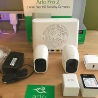 Arlo Pro 2 - Wireless Home Security Camera System with Siren | Rechargeabl Night vision