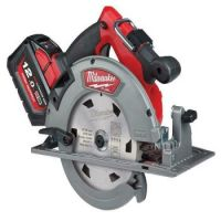 Milwaukees M18 FUEL 66 MM CIRCULAR SAW FOR WOOD AND PLASTICS GUIDE RAIL COMPATIBLE
