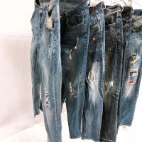 Japan Sell High Quality Used Clothes Jean Pants In Bales With Great Price