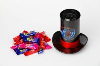 """Chocolate candys/ dragees """"Cylinder"""""""