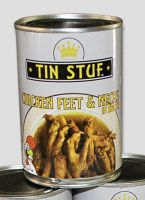 Chicken Feet and necks 400g Canned