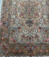 Persian hand-tufted living room colorful Wool / silk rugs & carpets.