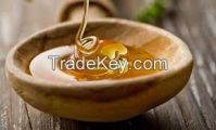 Raw and natural honey