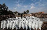 African hard wood charcoal