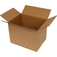 standard cardboard box