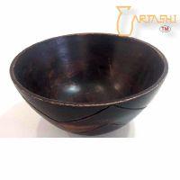 Wooden bowl large handmade