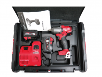 Milwaukee M18 FMTIW12 18V BL 2x6.0ah Mid-High Torque Rench 610Nm Charger_220V