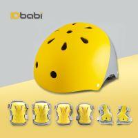 kids sports helmet adjustable ABS ventilate, knee/elbow/wrist pads