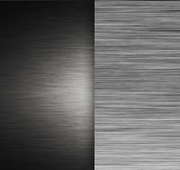 Brushed stainless steel PVC foil for lamination of panel or profile