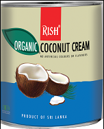 Organic Coconut Cream cans, Coconut milk, 22% fat