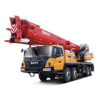 STC400T SANY Truck Crane 40t Lifting Capacity Strong Boom Powerful Chassis
