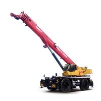 SRC900C SANY Rough-Terrain Crane 90T Lifting Capacity Strong Boom Powerful Chassis