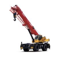 SRC600C SANY Truck Crane 60T Lifting Capacity Strong Boom Powerful Chassis