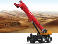 SRC1200A SANY Rough-Terrain Crane 120 Ton Lifting Capacity Strong Boom Powerful Chassis