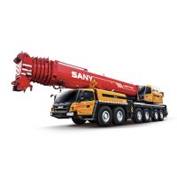 SAC3500S SANY All Terrain Crane 350 Tons Lifting Capacity Strong Boom Powerful Chassis