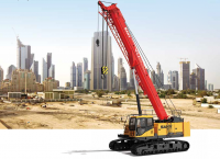 SCC250TB Telescopic Boom Crawler Crane 25 Tons Lifting Capacity Strong Boom Powerful Chassis