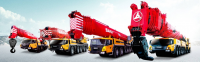 SRC600C SANY Rough-Terrain Crane 60 Ton Lifting Capacity Strong Boom Powerful Chassis