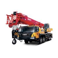 STC600T5 SANY Truck Crane 60T Lifting Capacity Strong Boom Powerful Chassis