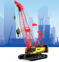 SCC1000A-5 SANY Crawler Crane 100 Tons Lifting Capacity