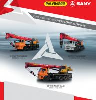 SPC320 SANY Truck-mounted Crane 32 Tons Lifting Capacity Russian Low Temperature
