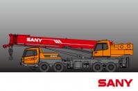 STC300H-YR1 SANY TRUCK CRANE 30 TONS LIFTING CAPACITY