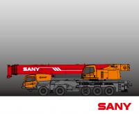 STC1600 SANY Truck Crane 160 Tons Lifting Capacity