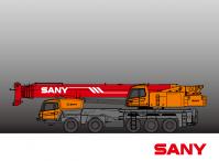 STC1300C SANY Truck Crane 130 Tons Lifting Capacity