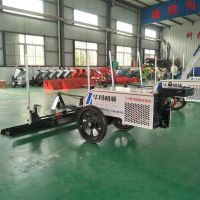 Two wheels Concrete Hand Guided Laser Screed Machine