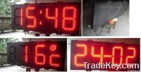 LED clock LED sign