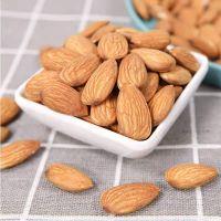 Factory price almonds in bulk good quality snack raw badam almond price nuts supplier