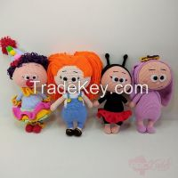 Hand Knitted Doll Models