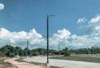 Solar cylinder street light 100Watt
