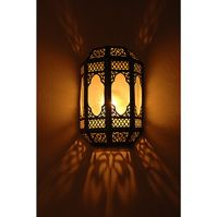 Moorish wall sconces