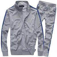 Slim fit sports track suit men bulk wholesale tracksuit