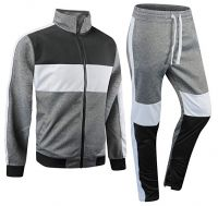 2021 Custom logo training wear oversize jogger sportswear plain sweat suits brand tracksuits for men women set