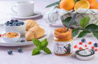 Fruit Spreads | Organic Goji Berry Orange - Basil and Agave Spread